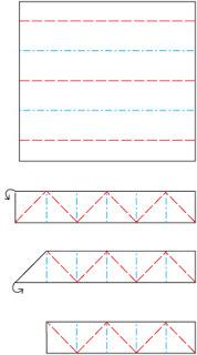 itajime-fold-directions